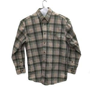 Orvis Long Sleeve Button Down Dress Shirt L or XL
